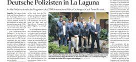 Policías alemanes patrullan en España