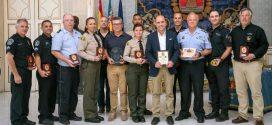 POLICÍAS DE USA Y ALEMANIA PATRULLAN EN ESPAÑA