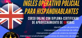 CURSO ONLINE: INGLÉS OPERATIVO POLICIAL