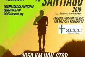 """Inscripción como corredor acompañante de los relevistas durante """"Santa Pola to Santiago 2018"""" y """"Roncesvalles to Santiago 2018""""."""