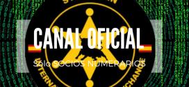 Canal Oficial sólo para socios numerarios YA ACTIVO